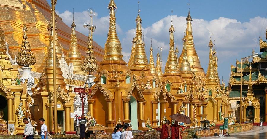 Мьянма: Янгон и Баган